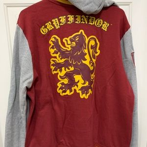 Warner Bros. Jackets & Coats - Harry Potter gryffindor snap jacket